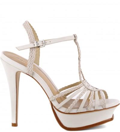 Sandálias Stripe Pearl