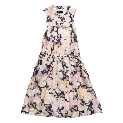 Dress Girl Flower Printed