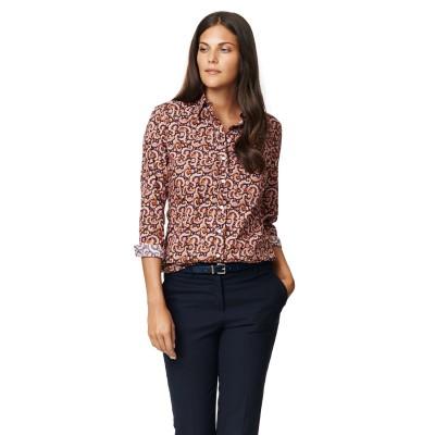 Cotton Poplin Strech Paisley Shirt GANT