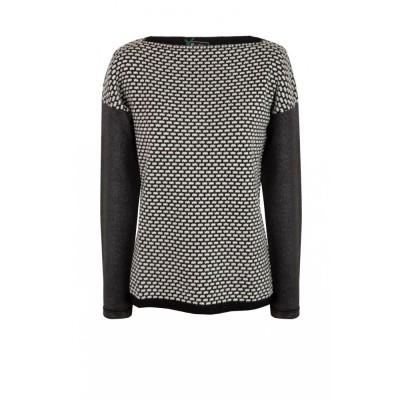 Jacquard Foil Sweater SINEQUANONE