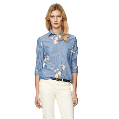 Embroirered Chambray Shirt GANT