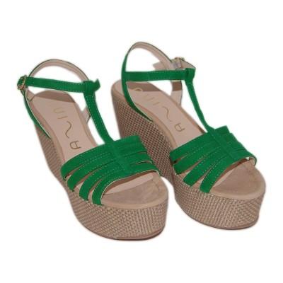 Sandálias Lusono Green UNISA