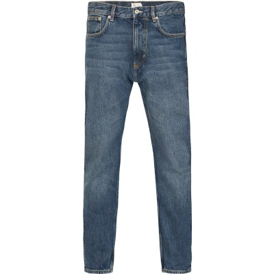 The Jim Relaxed Fit Jeans Mid Blue