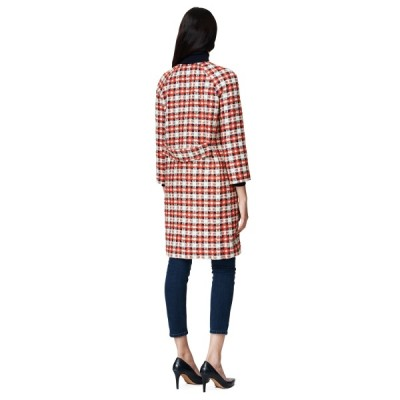 W. Jackie Checked Coat GANT