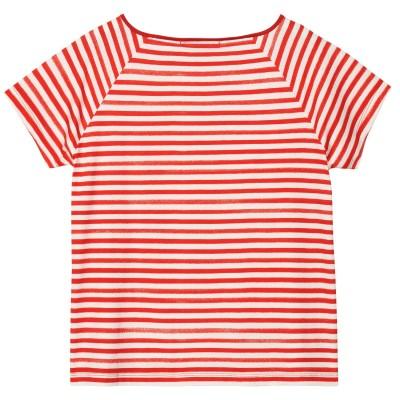 T-Shirt Handprinted Striped Tee GANT