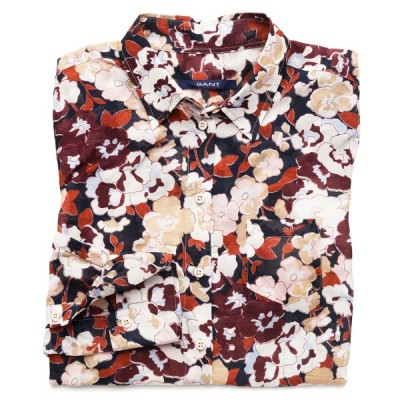 Camisa Pansy Print Voile