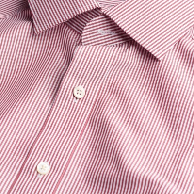 Camisa Poplin Banker Spread Collar