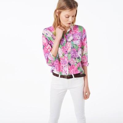 Camisa Flowered