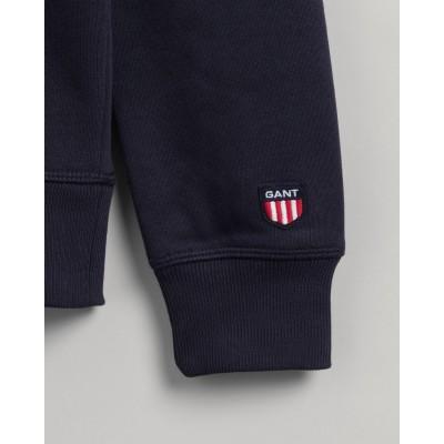 Camisola com capuz Retro Shield