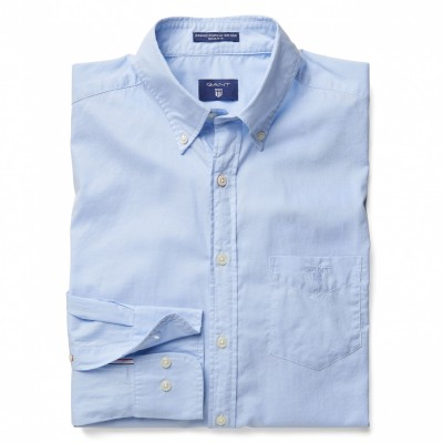 Camisa Washed Pinpoint oxford