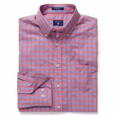 Camisa Dogleg Poplin Check