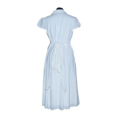 Vestido Broderie Anglais Wrap