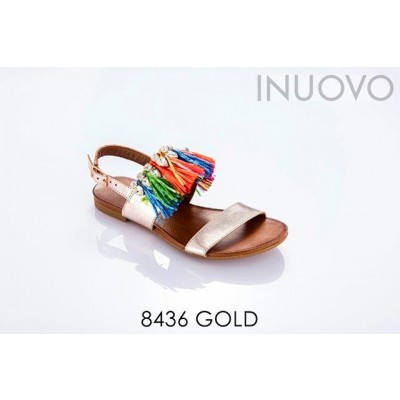 Sandália 8436 GOLD