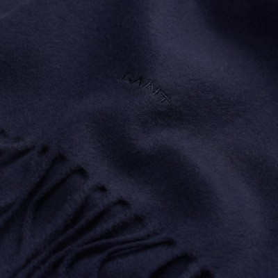 Cachecol Solid Lambswool Woven