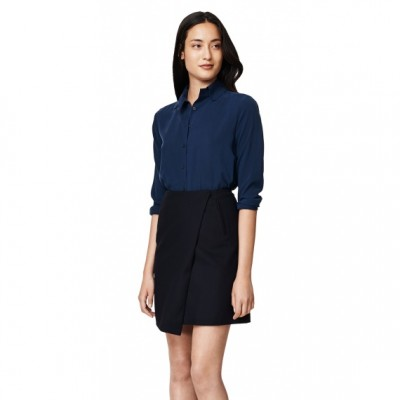 E. Melton Cashmere Wrap Skirt GANT