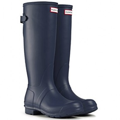 HUNTER ORIGINAL BACK ADJUSTABLE RAIN BOOTS