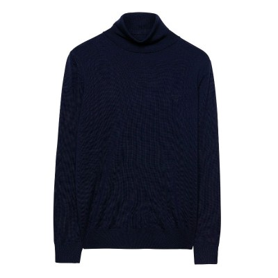 Camisola Gola Alta Fine Merine Wool