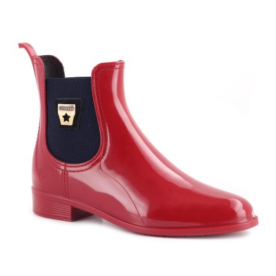 Galochas Rainy500 Red+Midnight blue