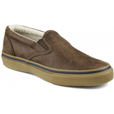Sapatos Striper Leather Slip-on