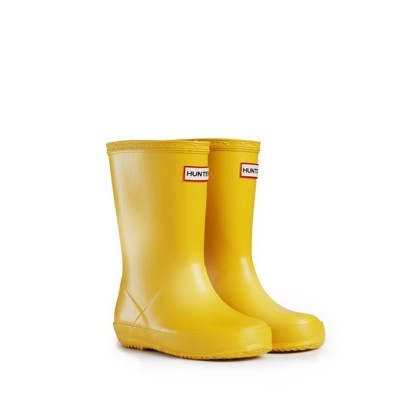 Galochas Kids' First Yellow