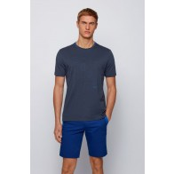 Regular-fit logo T-shirt in Bionic® single jersey