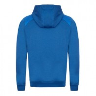 Regular-fit sweatshirt with large curved logo